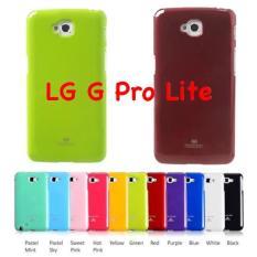 LG G Pro Lite Original Mercury Goospery Jelly Glitter Case