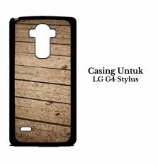 LG G4 Stylus Case Wooden floor Custom Hard Case Cover