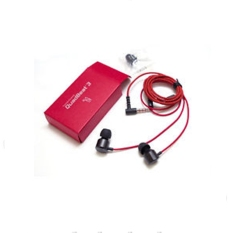LG Handsree Quadbeat 3 Premium In Ear For G4/G3/G2 - Merah Original