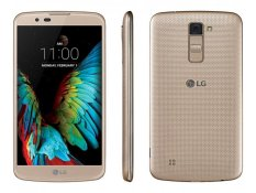 LG K10 K430Y - 2GB /16GB - Black Gold (Free Jelly Case) - Garansi Resmi