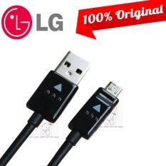 LG Kabel Data LG Micro Usb Original 100% Cable Data LG Micro Usb 120cm Kabel Data LG G2 / G3 / G4 / G5 - Black