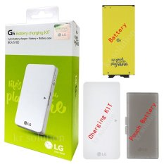 LG KIT G5 Extra Battery Charging Kit / Baterai KIT G5 BCK-5100 2800mAh Original 100%