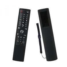 LG OLED TV Remote Case SIKAI Pelindung Silicone Case untuk LG AN-MR700 Tanda Tangan OLED TV Remote Shockproof Anti-Slip Debu-Bukti Bisa Dicuci Kulitnya Ramah Anti-hilang dengan Tangan Lanyard (Hitam) -Intl