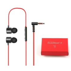 LG QuadBeat 3 LE630 LG G4 G3 Premium In Ear Headphones Original- Hitam Merah