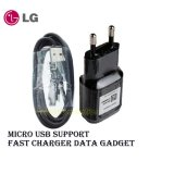 Harga Lg Fast Charger Gadget Support Micro Usb Mcs04 Black Version Online
