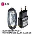 Beli Lg Fast Charger Gadget Support Micro Usb Mcs04 Black Version Baru
