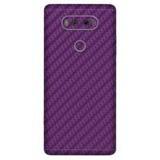 LG V20 Carbon Fiber Skins Cover - Dlabel Garskin