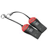 Lgpenny 2 Pcs Portable Hi Speed Usb 2 Micro Sd Pembaca Kartu Memori Dengan Lanyard Baru Internasional Asli