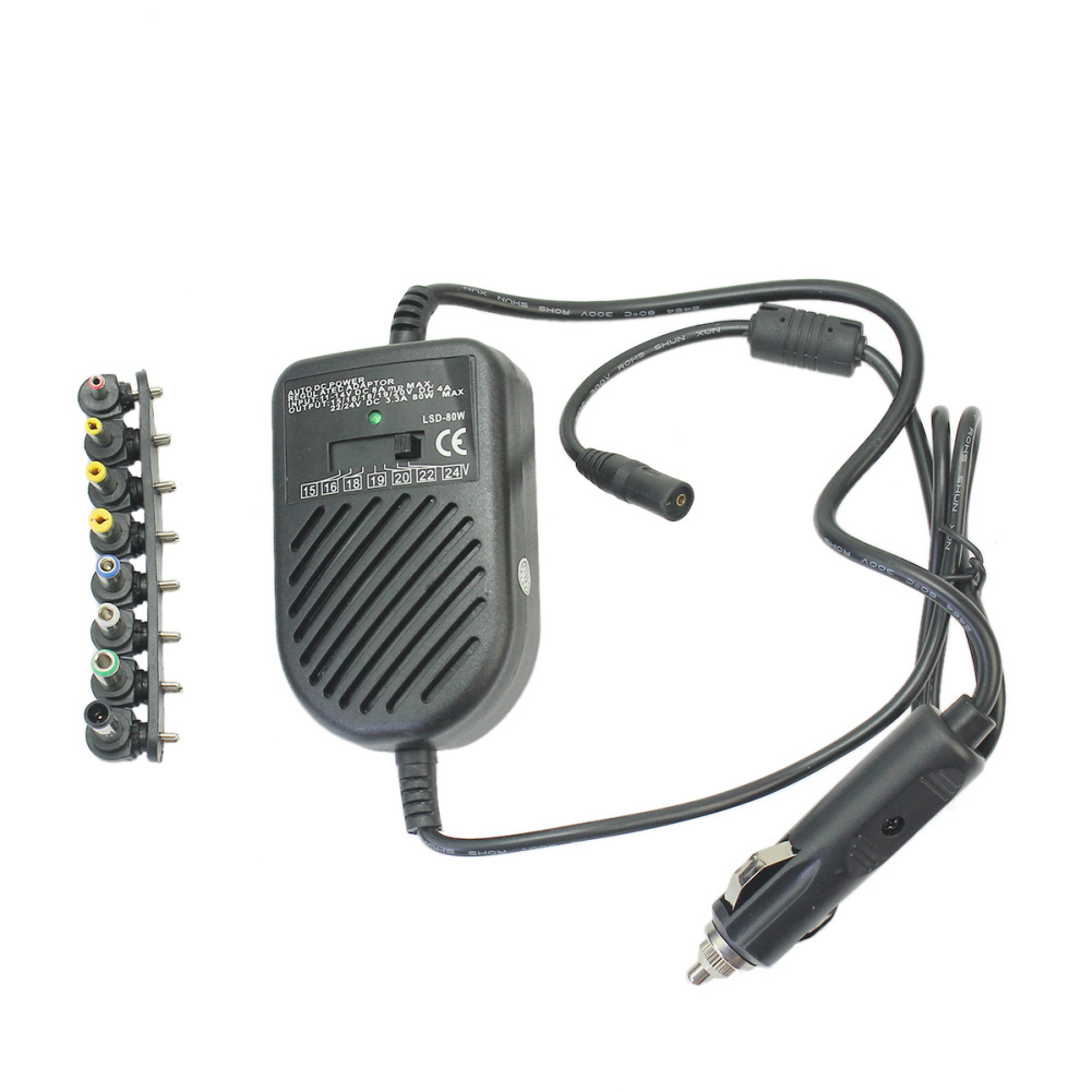 Rp 157000 Lgpenny 80 W Car Charger Auto Adaptor Daya DC Supply Untuk Komputer Notebook Laptop