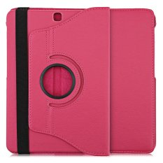 Lichee Pola 360 Degree Rotating Cover dengan Auto Tidur Bangun Fungsi untuk Samsung Galaxy Tab S2 9.7 WIFI/ LTE T810/T815-Intl