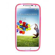 Promo Life Silicone S Line Jellycase For Samsung Galaxy S4 Hot Pink Akhir Tahun