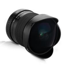 Lightdow 8 Mm F/3.5 Aspherical Circular Ultra Mata Ikan Sudut Lebar Lensa Utama untuk Canon-Intl
