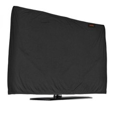 Lightweight Flat Screen TV Cover – Full Body Stretchable Lycra Protection Sleeve - Fits 52-55