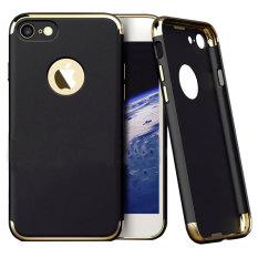 LIKGUS Tough Shield Jet Chrome for Iphone 7 - Black/Gold