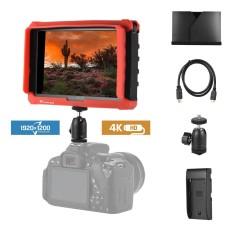 Lilliput A7s 7 Inci 1920*1200 FHD IPS Layar Kamera Field Monitor Tampilan dengan HD Di Luar Mendukung 4 K Sinyal 1000:1 Kontras Tinggi 500cd/M2 Kecerahan Silikon Sarung untuk Canon Nikon Sony Panasonic DSLR-Internasional