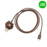 Spesifikasi Line Friends Kabel 5Pin Android Brown Intl Paling Bagus