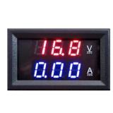 Toko Jual Linemart Led Dc Dual Digital Voltmeter