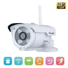 LingTud SP007 Waterproof 720 P Night Vision IP Camera Motion Detection Ir-cut Dukungan Micro SD Card untuk Outdoor Digunakan-Internasional