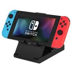 Linkwow Multi-Sudut Berdiri Universal untuk Nintendo Switch, Tablet Video Game Holder IPhone 7 6 Plus Ipad Samsung S8 S7 untuk Semua Tablet Lainnya Ponsel (Hitam) -Intl