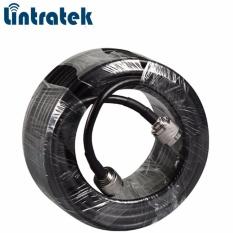 Toko Lintratex Kabel 30 M Coaxial Rg6 N Male Ke N Male Untk Amplifier Hp Termurah