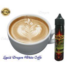 Diskon Liquid Dragon Vape Rokok Eektrik White Coffe Branded