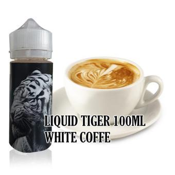 Liquid Tiger 100ml Rasa White Coffe Vape & Rokok Elektrik