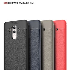 Litchi soft silicone back cover for Huawei Mate 10 Porsche Design - intl