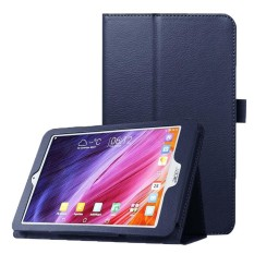 Litchi Texture Horizontal Flip Leather Case with Holder for Acer Iconia One 8 B1-820(Dark Blue) - intl