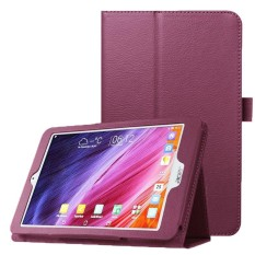 Litchi Texture Horizontal Flip Leather Case with Holder for Acer Iconia One 8 B1-820(Purple) - intl