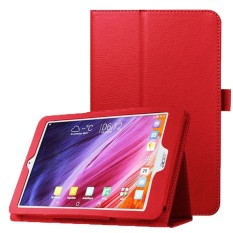 Litchi Texture Horizontal Flip Leather Case with Holder for Acer Iconia One 8 B1-820(Red) - intl