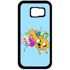 Lived Designed Adventure Time US TV Series Samsung Galaxy S7 Thin Flexible Plastic Cover Case, Dust Proof Lightweight Cases for Samsung Galaxy S7 - intl