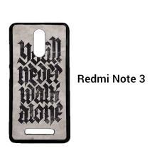 Liverpool You'll Never Walk Alone O1042 Casing Custom Hardcase Xiaomi Redmi Note 3 Case Cover
