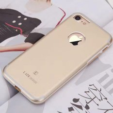 Lize For Apple iPhone7 / iPhone 7 / iPhone 7G / iPhone 7S Ukuran 4.7 inch Hardshell Jaeger Hard Case Back Cover / Hardase Metal Alumunium Case / Casing Hp - Gold