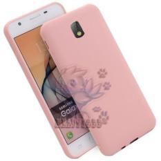 Lize Case Samsung Galaxy J7 Pro J730 2017 Rubber Silicone Anti Glare Skin Back Case / Silikon Samsung Galaxy J7 Pro 2017 / Jelly Case / Ultrathin / Soft Case Slim Pink Matte Samsung J730 / Casing Hp / Baby Skin Case - Pink / Pink Muda