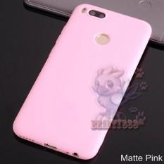 Lize Case Xiaomi MI A1 Rubber Silicone Anti Glare Skin Back Case / Silikon Xiaomi Mi A1 / Jelly Case / Ultrathin / Soft Case Slim Pink Matte Xiaomi Mia1 / Casing Hp / Baby Skin Case - Pink / Pink Muda