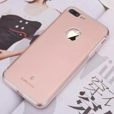 Lize Hardshell For Apple iPhone7 Plus / iPhone 7 Plus / iPhone 7G Plus / iPhone 7S Plus / iPhone 7+ Ukuran 5.5 Inch Jaeger Hard Case Back Cover / Hardcase Metal Case / Casing Hp - Rose Gold