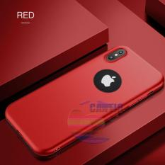 Lize Jelly Case Apple iPhone X Candy Rubber Skin Soft Back Case / Softshell  / Silicone iphone x / Jelly Case / Ultrathin Lize iphone x / Case Xiaomi / Casing Hp - Merah / Red