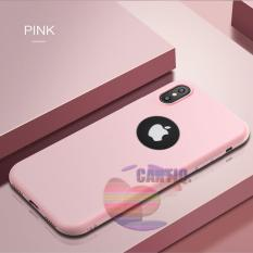 Lize Jelly Case Apple iPhone X Candy Rubber Skin Soft Back Case / Softshell  / Silicone iphone x / Jelly Case / Ultrathin Lize iphone x / Case Xiaomi / Casing Hp - Pink / Pink Muda