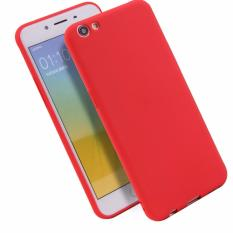 Lize Jelly Case Oppo F3 Plus Candy Rubber Skin Soft Back Case / Softshell / Silicone Oppo F3 Plus / Jelly Case / Ultrathin / Case Oppo / Casing Hp - Merah / Red