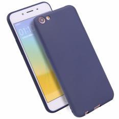Lize Jelly Case Oppo F3 Plus Candy Rubber Skin Soft Back Case / Softshell / Silicone Oppo F3 Plus / Jelly Case / Ultrathin / Case Oppo / Casing Hp - Navy / Biru Tua
