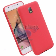 Lize Jelly Case Samsung Galaxy J5 Pro J530 Candy Rubber Skin Soft Back Case /  Softshell  / Silicone Samsung Galaxy J5 Pro J530 / Jelly Case / Ultrathin / Case Xiaomi / Casing Hp - Merah / Red