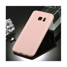 Lize Samsung Galaxy S7 Edge / Samsung G935F Softshell / Soft Case / Jelly Case / Soft Back Case / Casing Samsung S7 Edge / Silicon / Silikon / Case HP / Casing Handphone Samsung Galaxy S7 Edge Duos - Peach