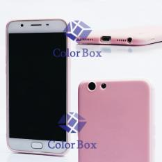 Lize Soft Case Oppo F1s Selfie Expert A59 Silicone Soft Jelly Soft Shell Back Case - Soft Pink