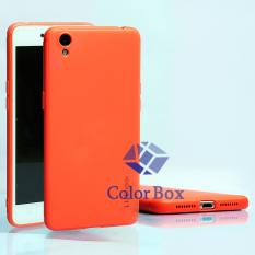 Lize Soft Case Oppo Neo 9 A37 Silicone Jelly Soft Shell Back Case - Merah