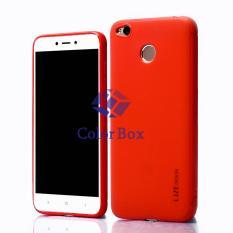 Lize Soft Case Xiaomi Redmi 4X Silicone Jelly / SoftShell Back Case / Softcase Xiaomi Redmi 4x - Merah