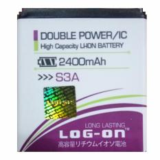 Log On Baterai Advan S3A - Double Power Battery - 2400 mAh