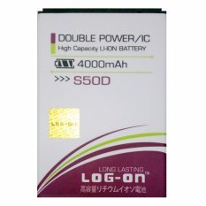 Model Log On Baterai Advan S50D Double Power Battery 4000 Mah Terbaru