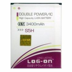 Toko Log On Baterai Advan S5H Double Power Battery 3400 Mah Log On Online