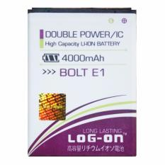 Log On Baterai Bolt E1 / ZTE Blade Q Lux - Double Power Battery - 4000 mAh