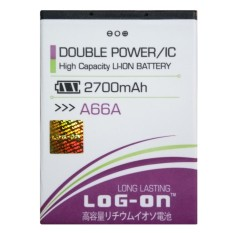 Log On Baterai Evercoss A66A - Double Power Battery - 2700 mAh
